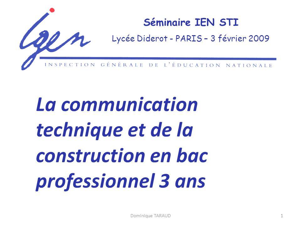 Lycée Diderot - PARIS – 3 février 2009