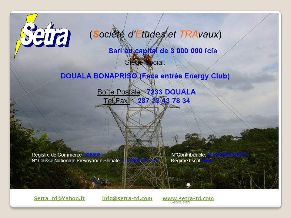 DOUALA BONAPRISO (Face entrée Energy Club)