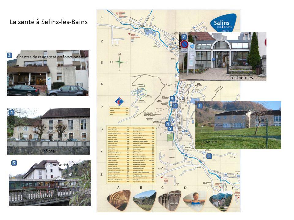 La santé à Salins-les-Bains
