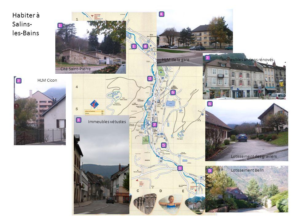 Habiter à Salins- les-Bains 4 1 1 4 HLM de la gare 7