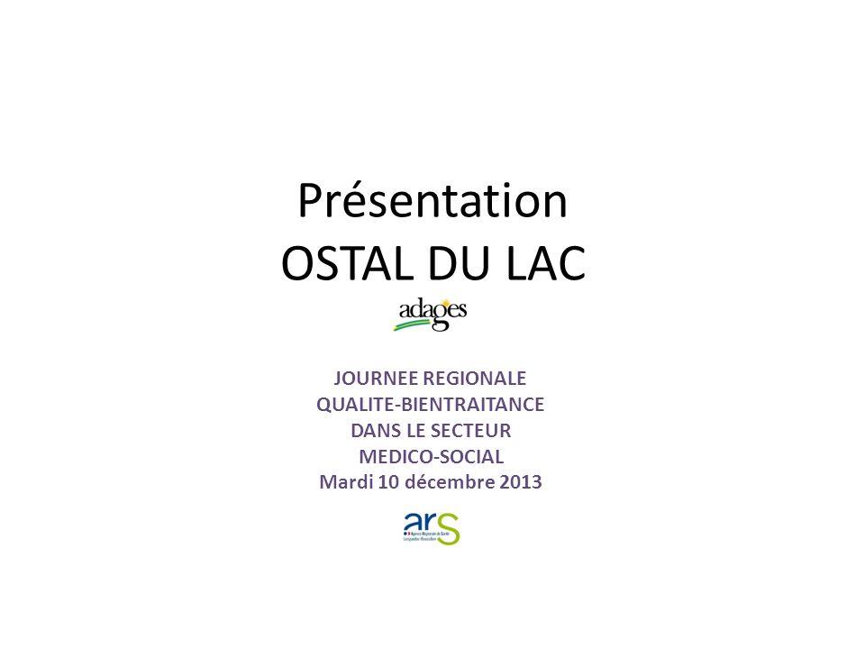 Présentation OSTAL DU LAC
