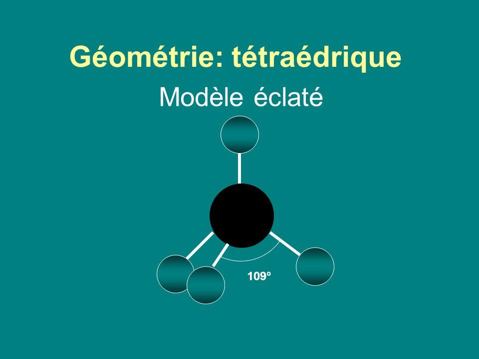 Géométrie: tétraédrique