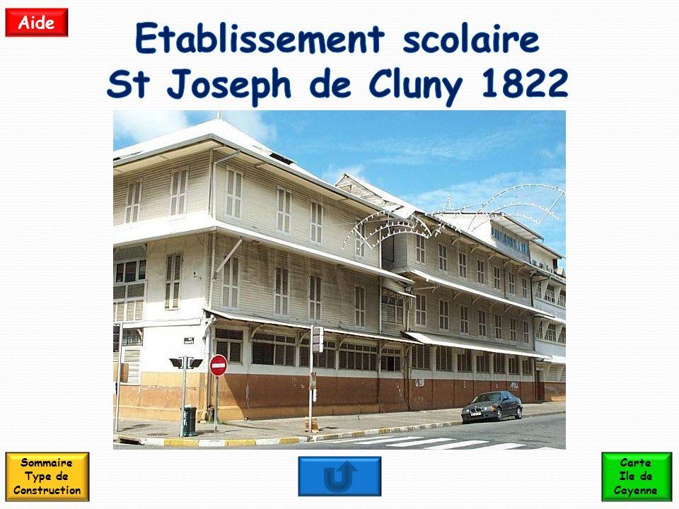 Etablissement scolaire St Joseph de Cluny 1822
