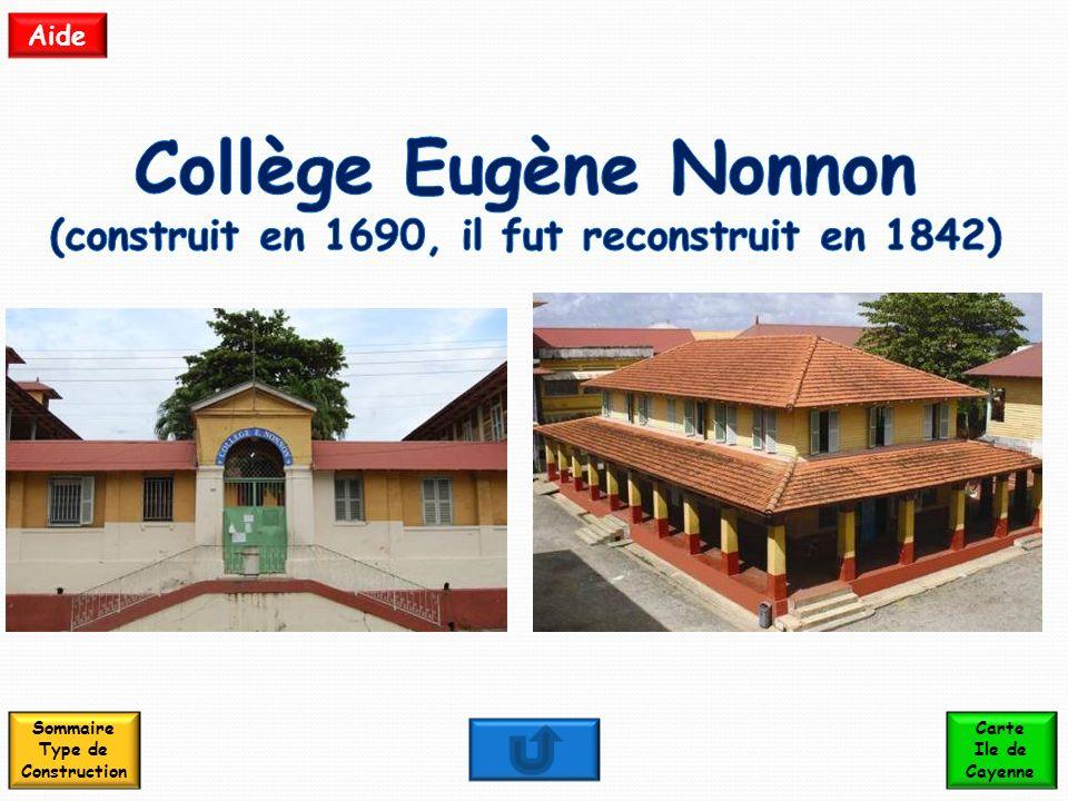 Collège Eugène Nonnon (construit en 1690, il fut reconstruit en 1842)