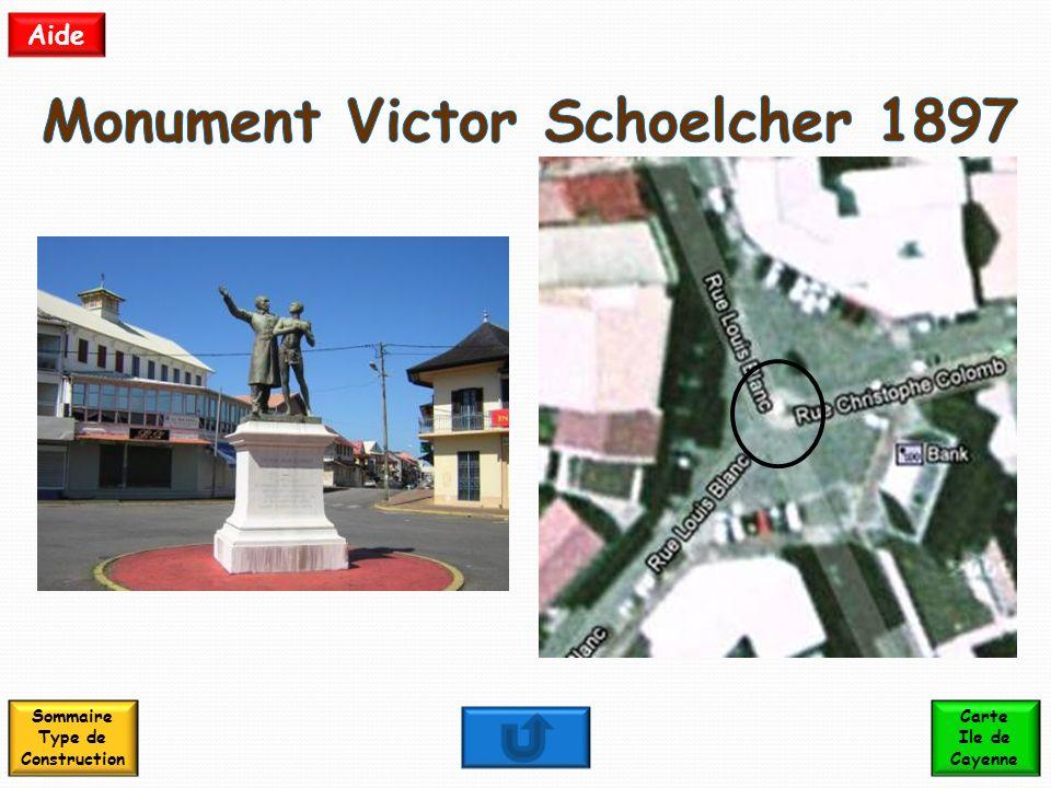 Monument Victor Schoelcher 1897 Sommaire Type de Construction