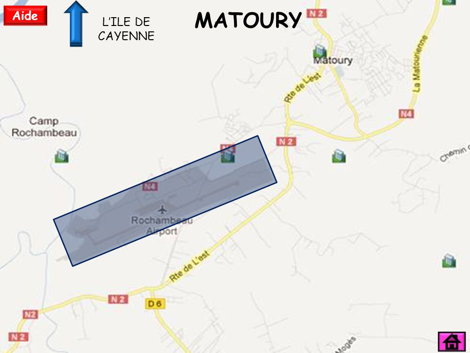 Aide MATOURY L'ILE DE CAYENNE
