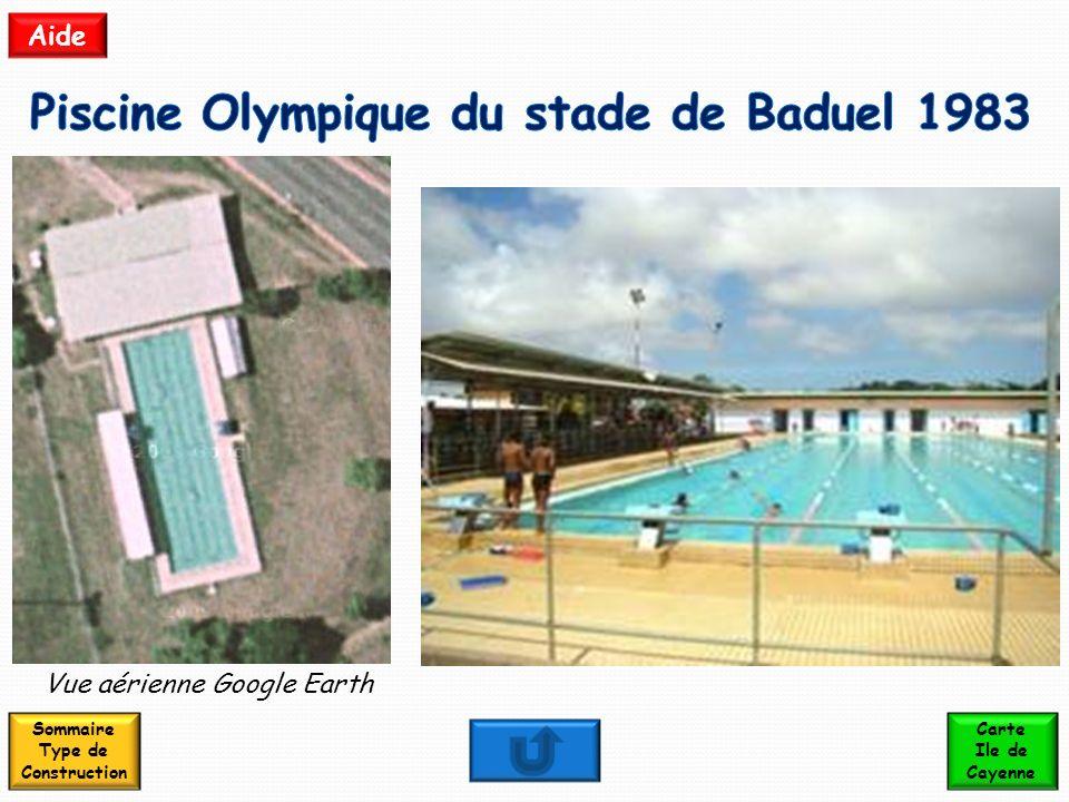 Piscine Olympique du stade de Baduel 1983