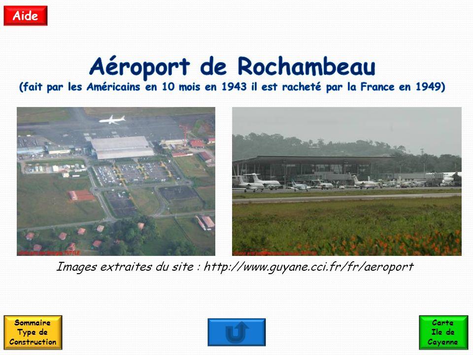 Aéroport de Rochambeau Sommaire Type de Construction