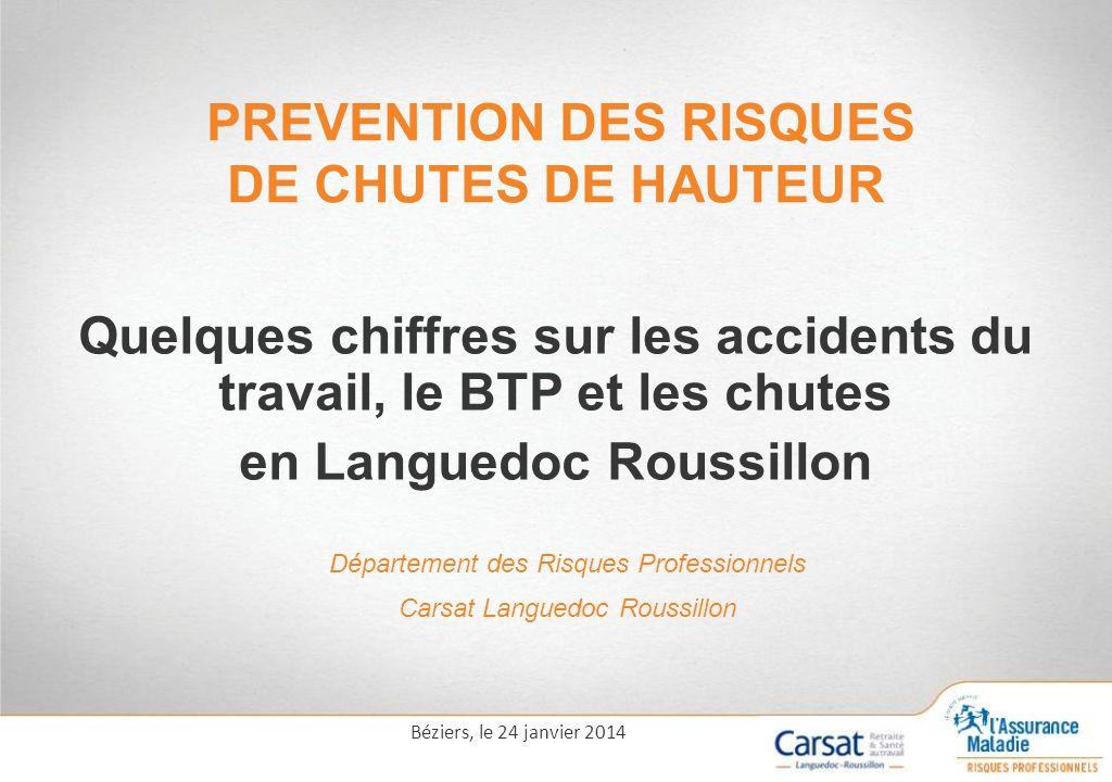 PREVENTION DES RISQUES DE CHUTES DE HAUTEUR