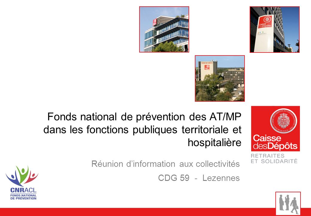 Réunion d'information aux collectivités CDG 59 - Lezennes