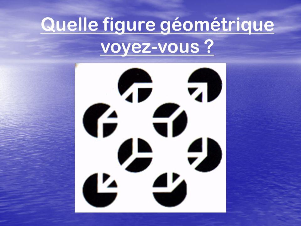 Quelle figure géométrique