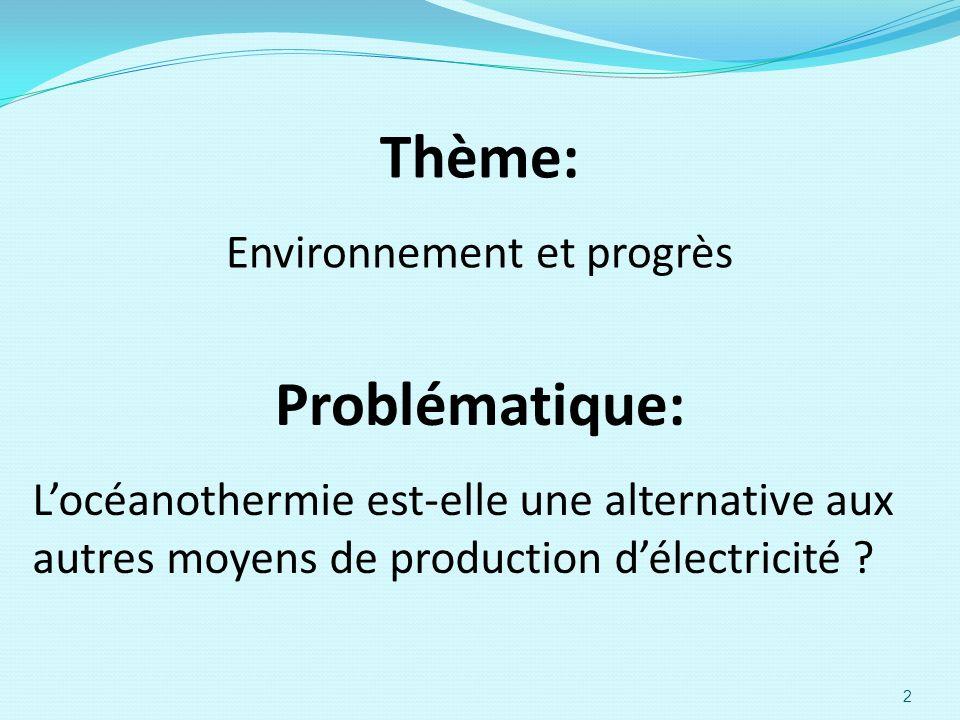 Environnement et progrès