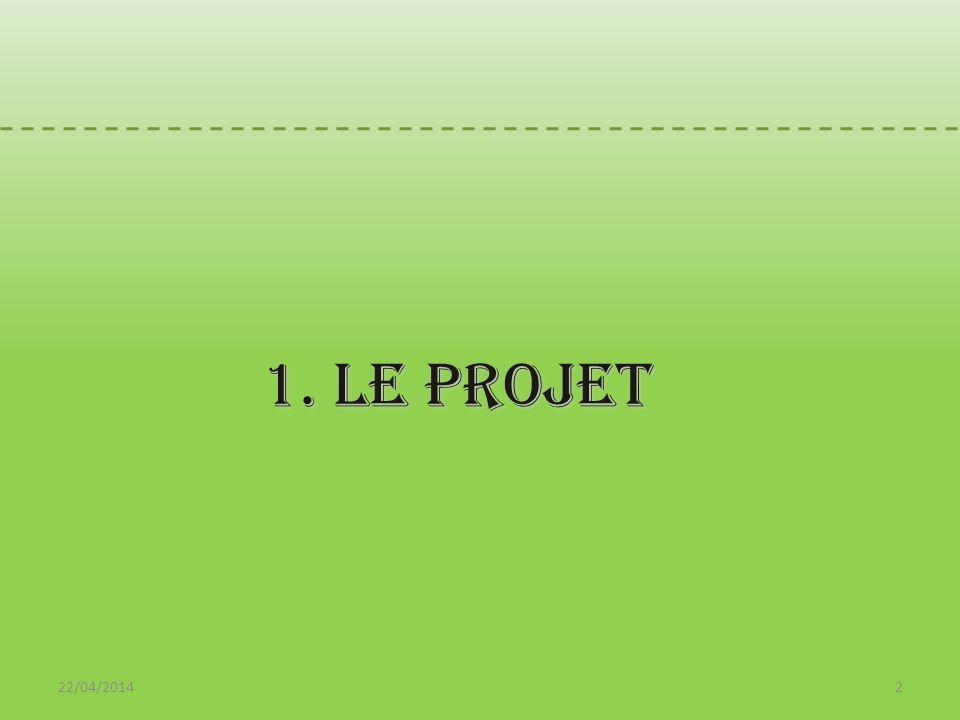 1. Le PROJET 30/03/2017