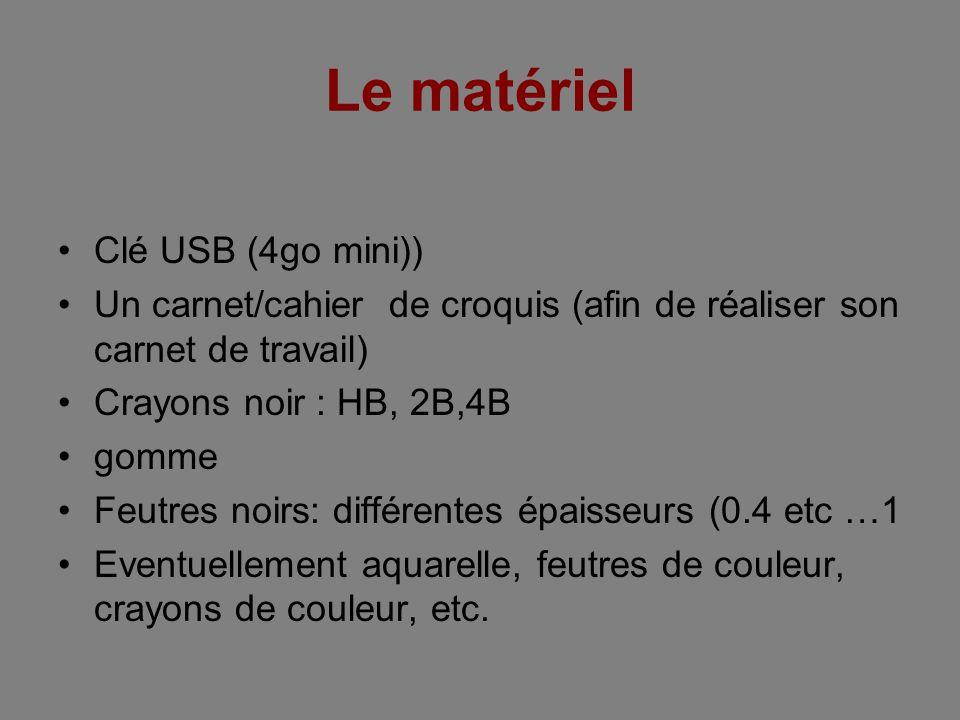 Le matériel Clé USB (4go mini))