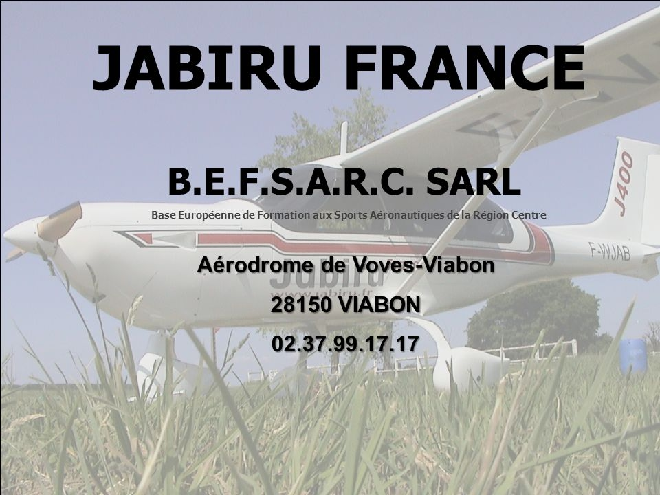 Aérodrome de Voves-Viabon