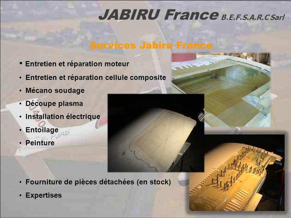 Services Jabiru France