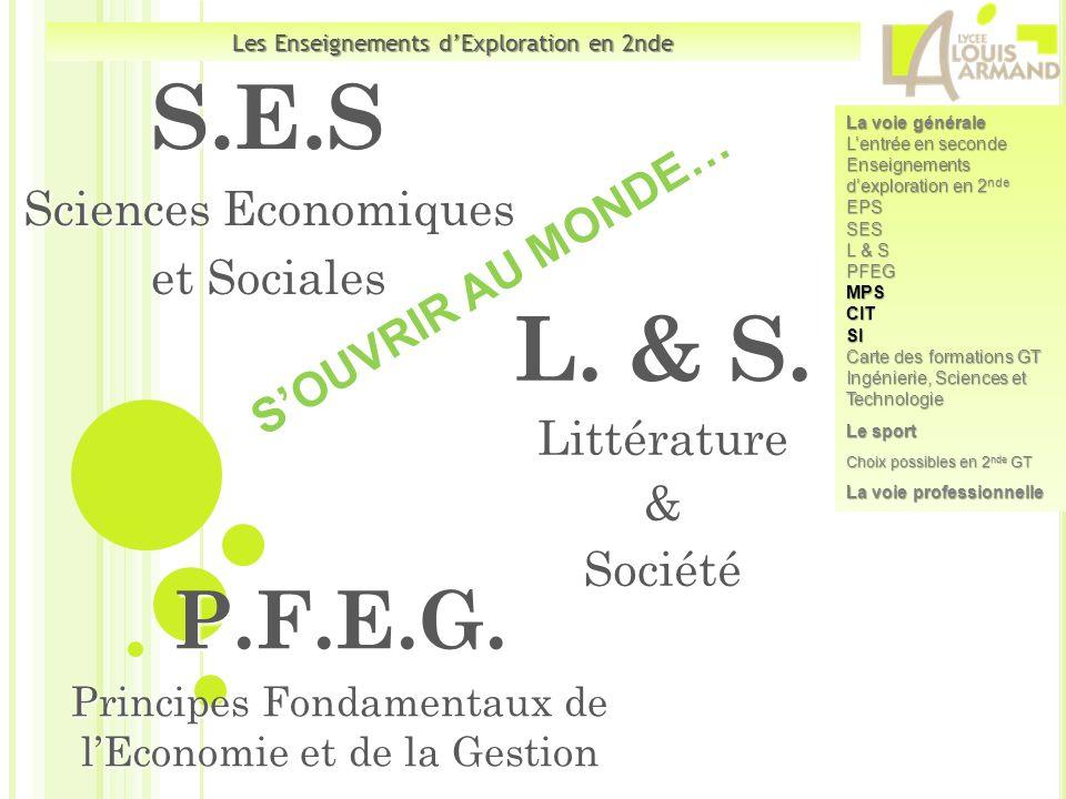 L. & S. Littérature & Société