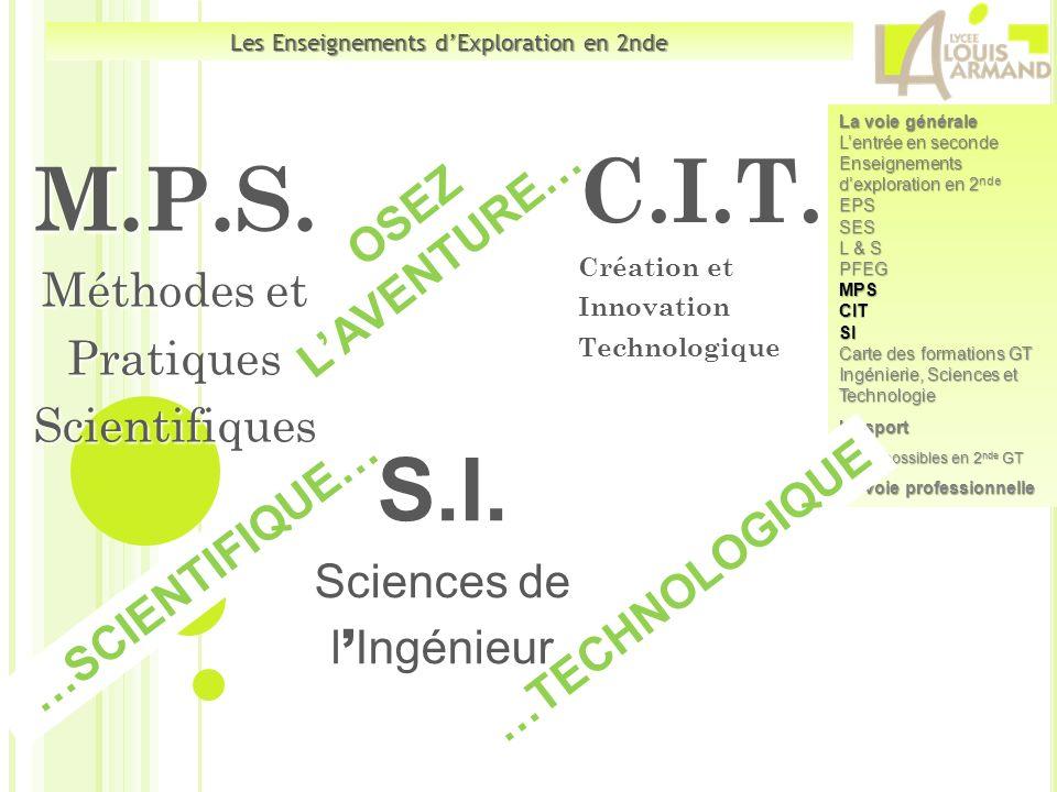 C.I.T. Création et Innovation Technologique