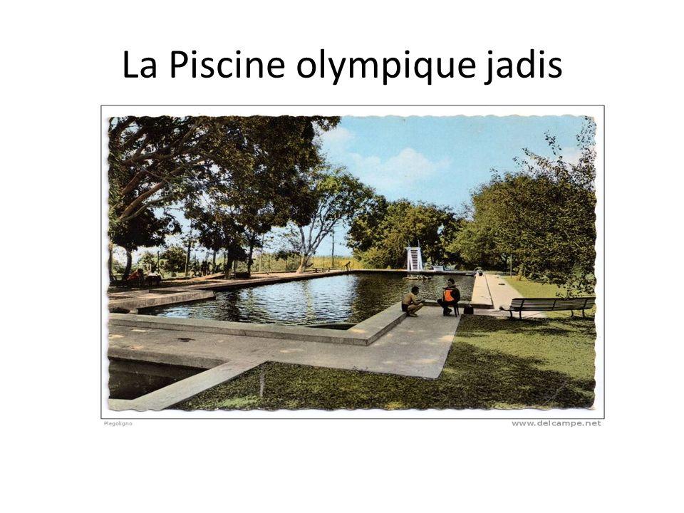 La Piscine olympique jadis