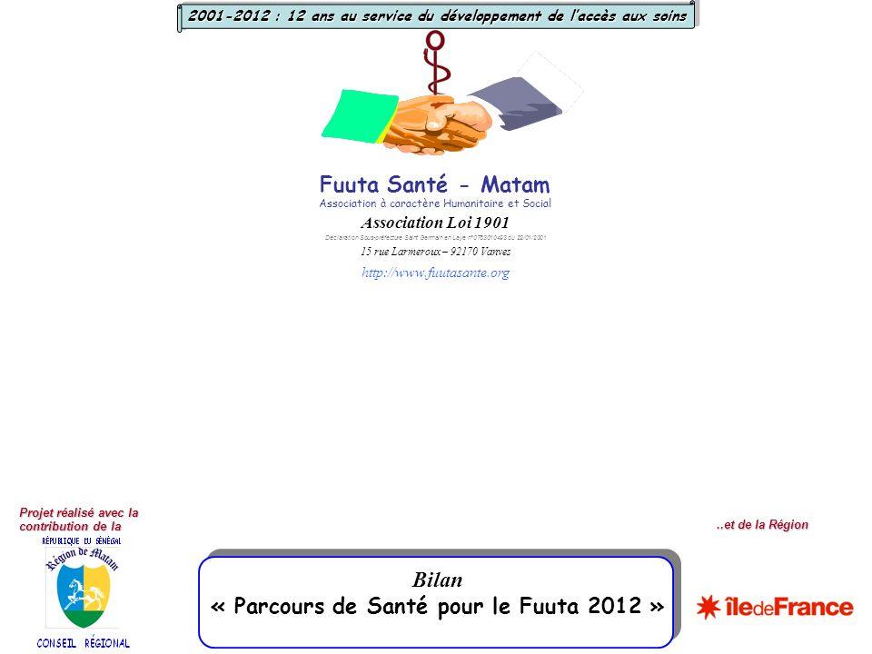 « Parcours de Santé pour le Fuuta 2012 »