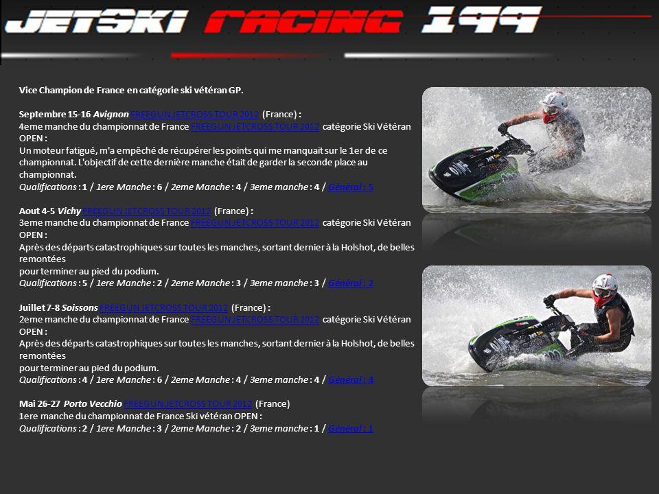 Vice Champion de France en catégorie ski vétéran GP