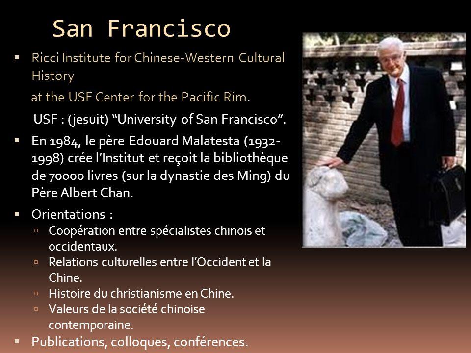 San Francisco Ricci Institute for Chinese-Western Cultural History
