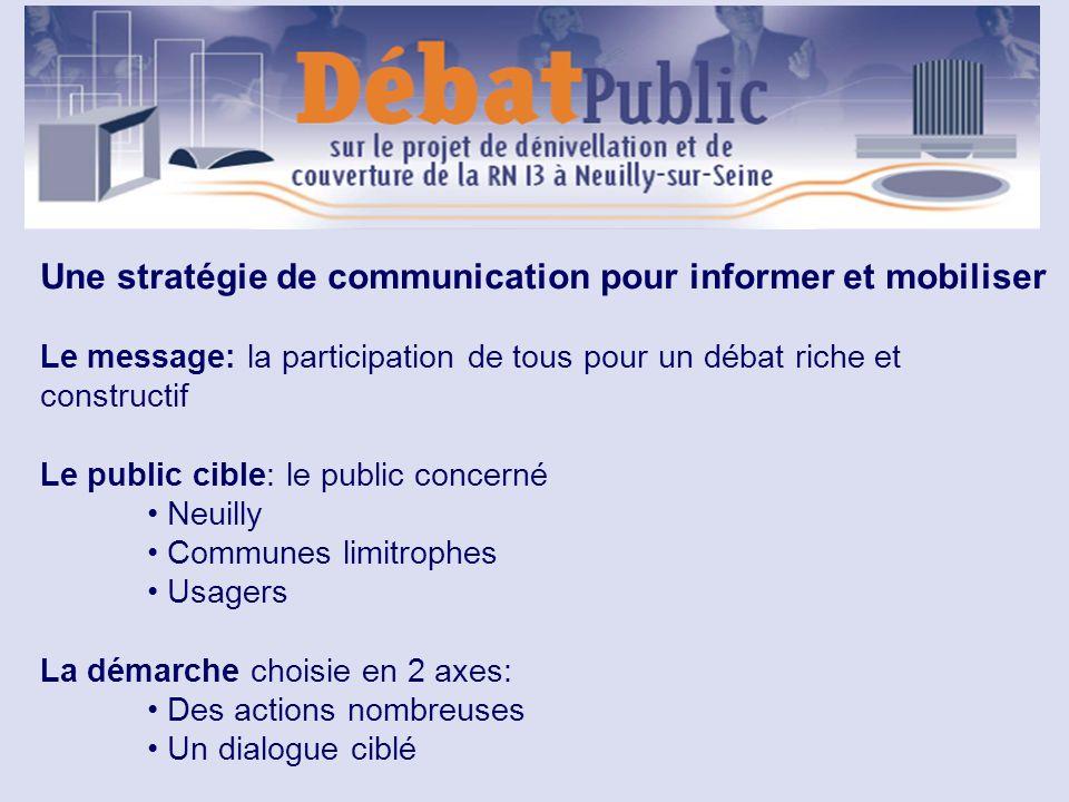 Une stratégie de communication pour informer et mobiliser