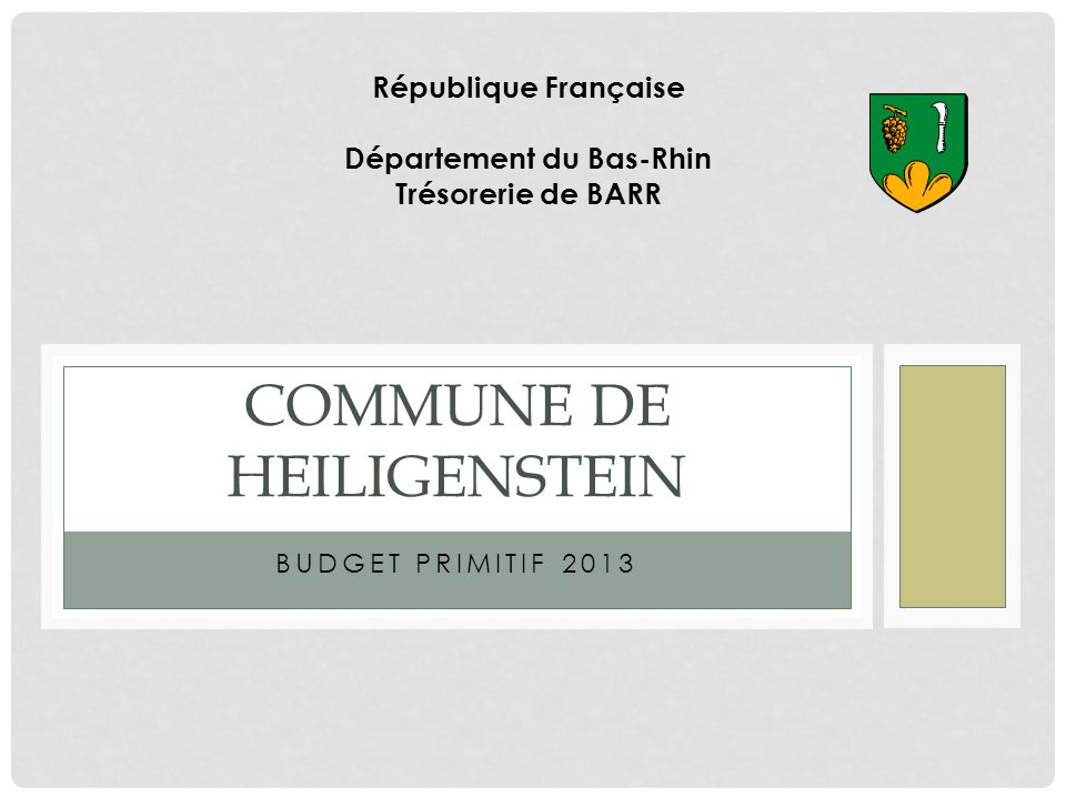 Commune de HEILIGENSTEIN