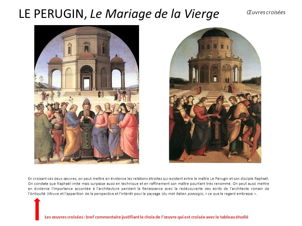 LE PERUGIN, Le Mariage de la Vierge