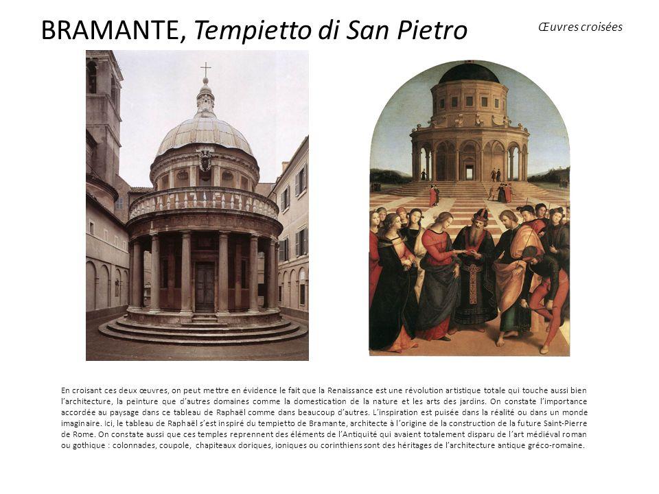 BRAMANTE, Tempietto di San Pietro
