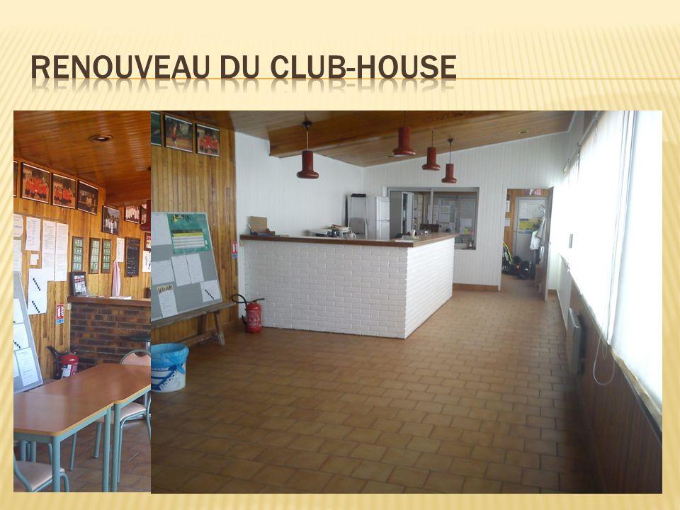 Renouveau du club-house