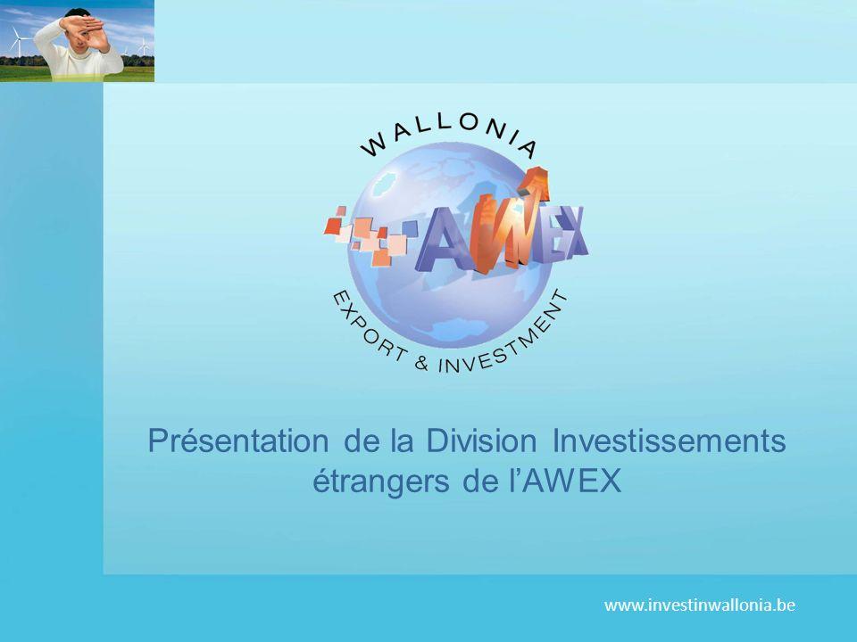 Présentation de la Division Investissements étrangers de l'AWEX