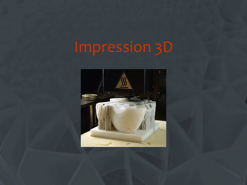 Impression 3D Change this title