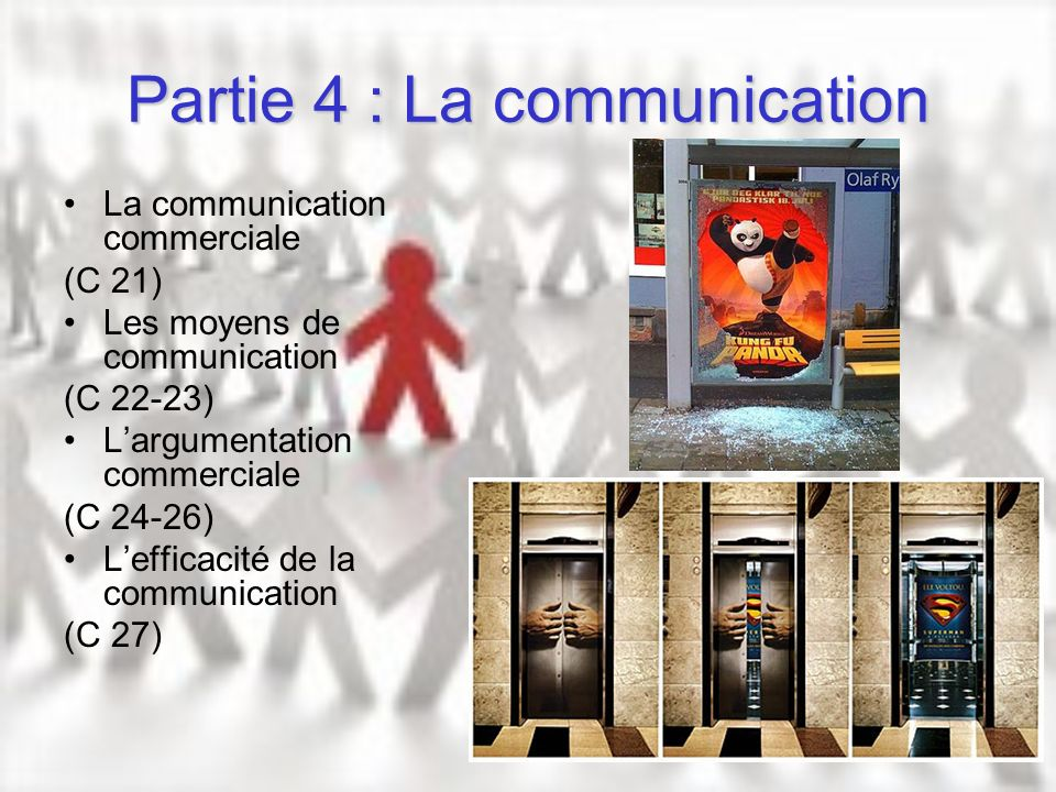 Partie 4 : La communication