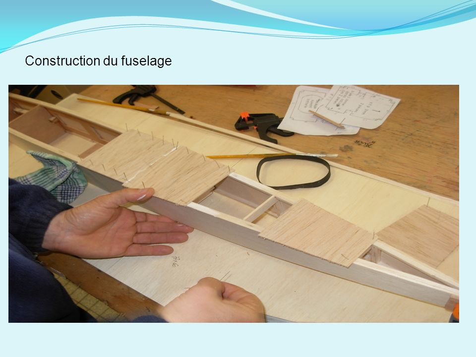 Construction du fuselage