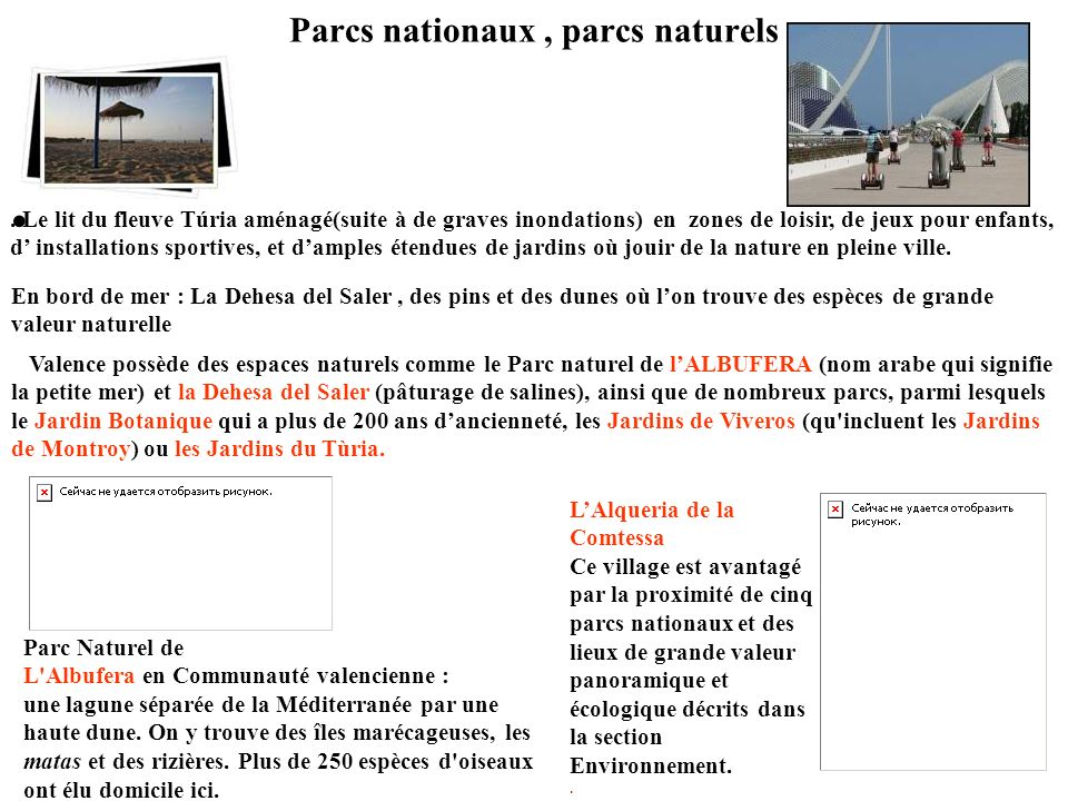Parcs nationaux , parcs naturels