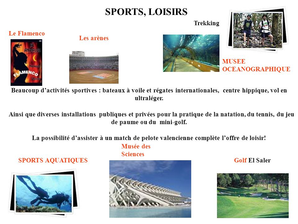 SPORTS, LOISIRS Trekking Le Flamenco Les arènes MUSEE OCEANOGRAPHIQUE