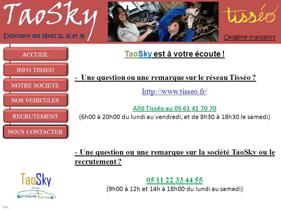 TaoSky est à votre écoute !