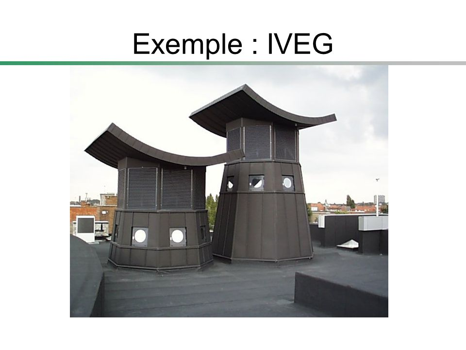 Exemple : IVEG