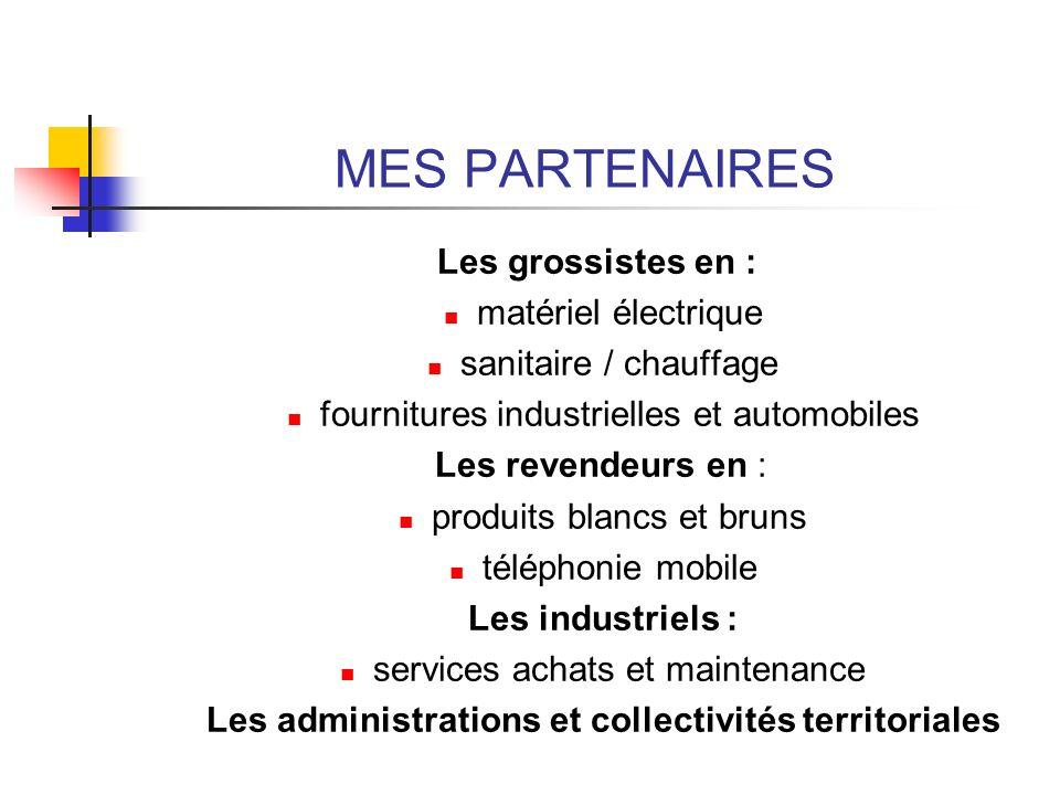 Les administrations et collectivités territoriales