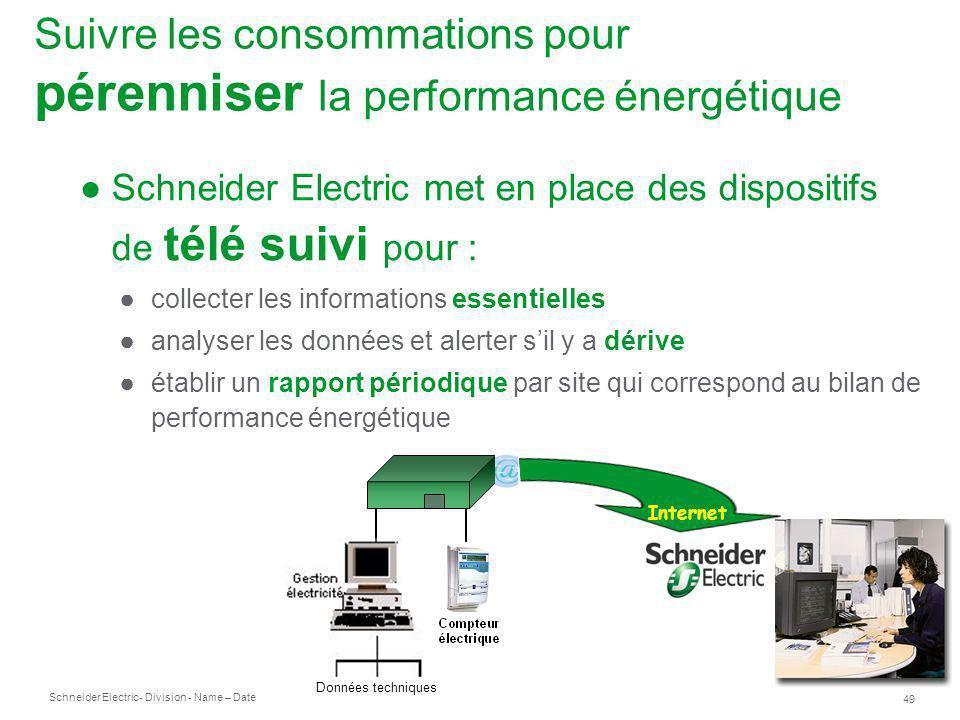 Suivre les consommations pour pérenniser la performance énergétique