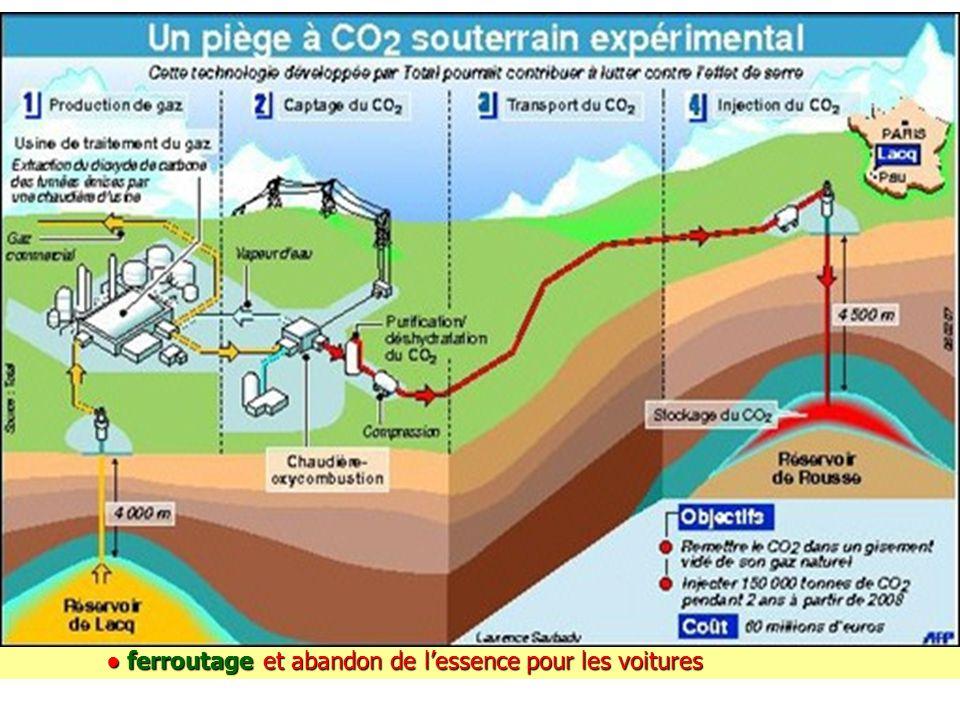 - Il faut vraiment apprendre à capter et séquestrer le CO2: