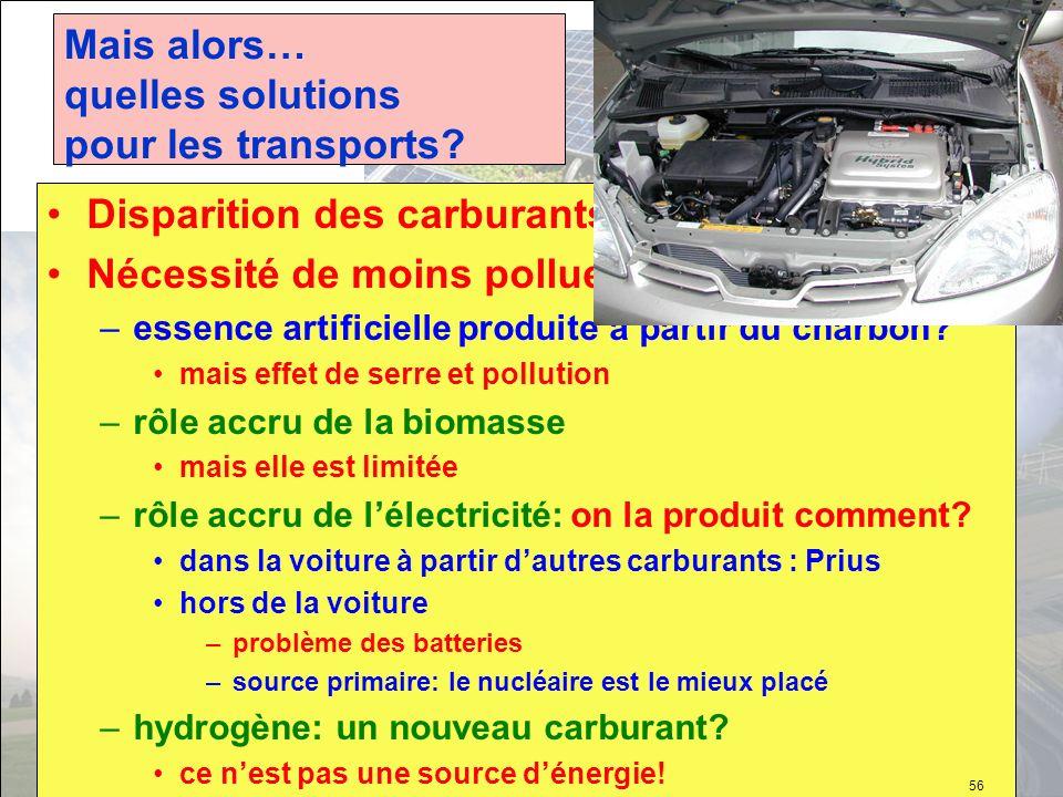 Mais alors… quelles solutions pour les transports