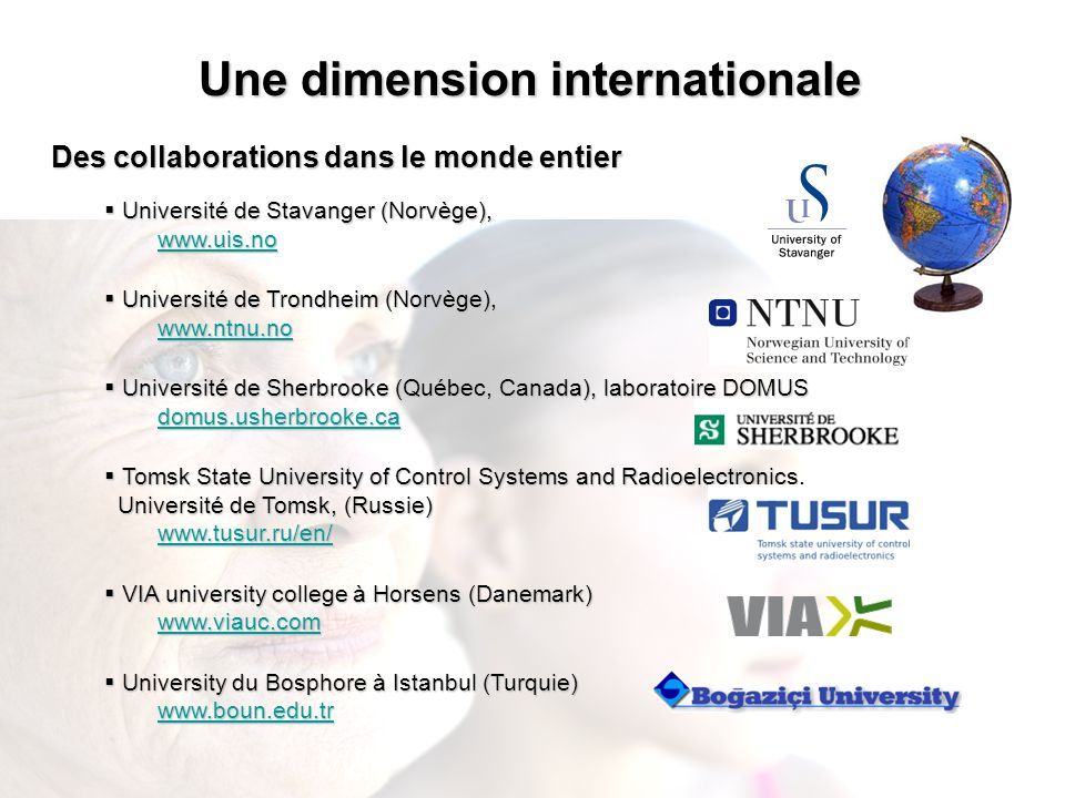 Une dimension internationale