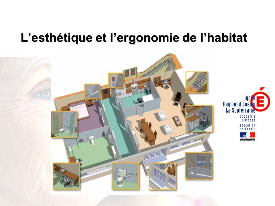 L'esthétique et l'ergonomie de l'habitat