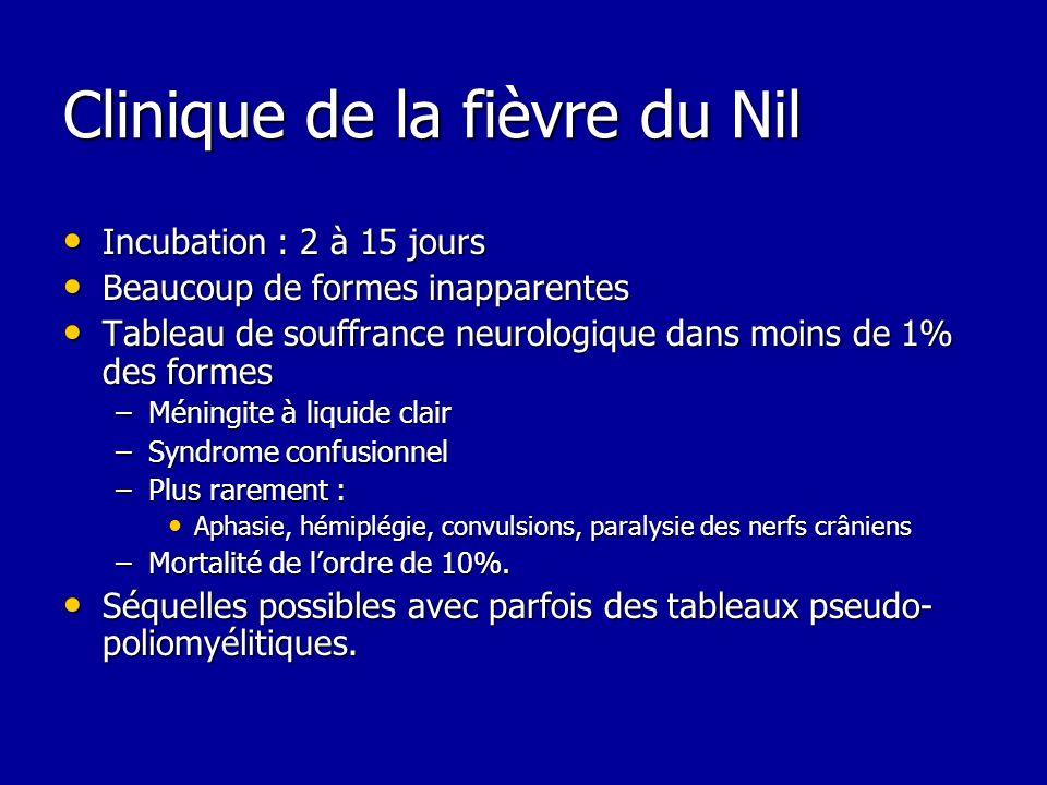 Clinique de la fièvre du Nil