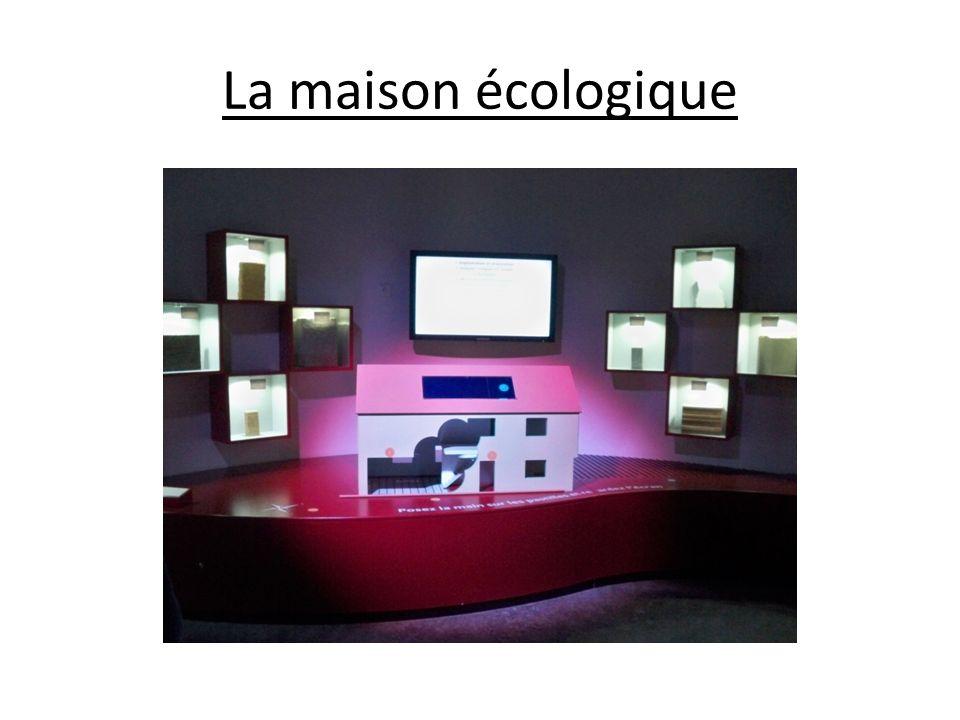 La maison écologique