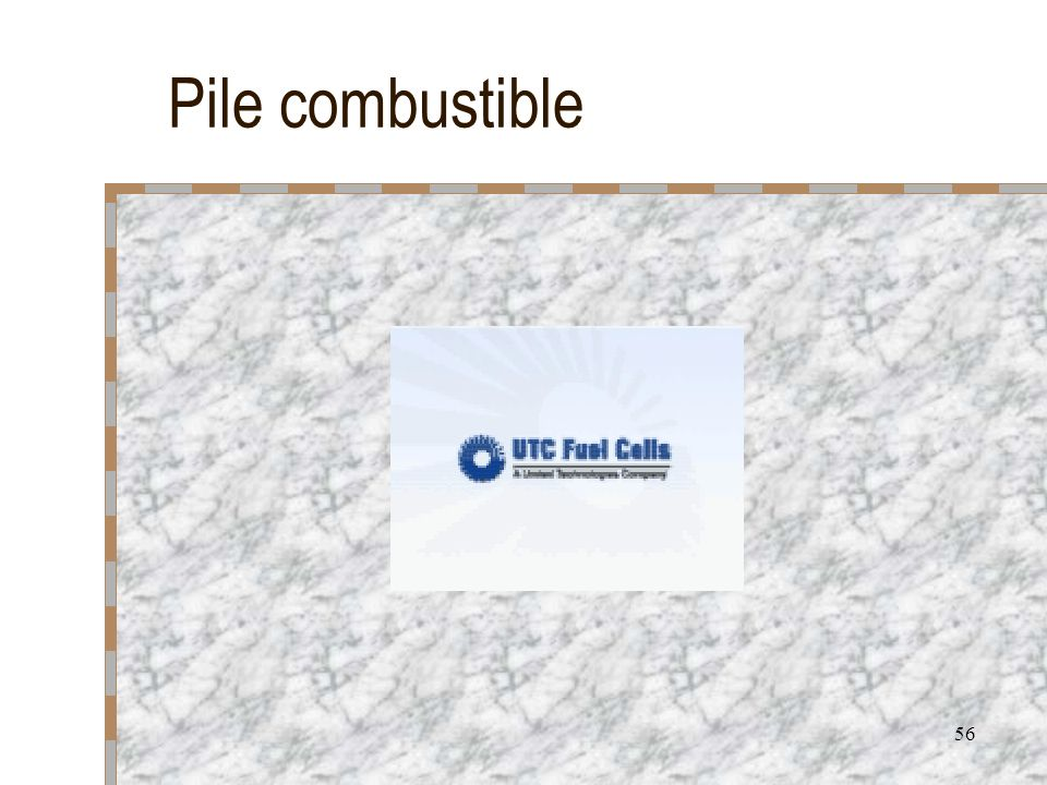 Pile combustible