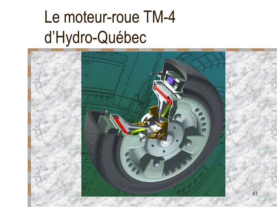 Le moteur-roue TM-4 d'Hydro-Québec