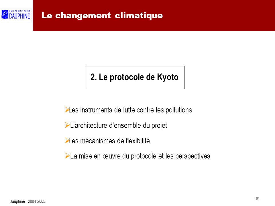 La panoplie des instruments de lutte contre les pollutions